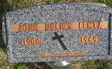 LENTZ, JOHN JULIUS - Codington County, South Dakota | JOHN JULIUS LENTZ - South Dakota Gravestone Photos