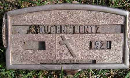 LENTZ, RUBEN - Codington County, South Dakota | RUBEN LENTZ - South Dakota Gravestone Photos