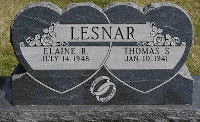 LESNAR, ELAINE R. - Codington County, South Dakota | ELAINE R. LESNAR - South Dakota Gravestone Photos