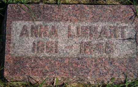 LINHART, ANNA - Codington County, South Dakota | ANNA LINHART - South Dakota Gravestone Photos
