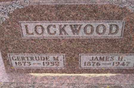 LOCKWOOD, JAMES HENDRIX - Codington County, South Dakota | JAMES HENDRIX LOCKWOOD - South Dakota Gravestone Photos