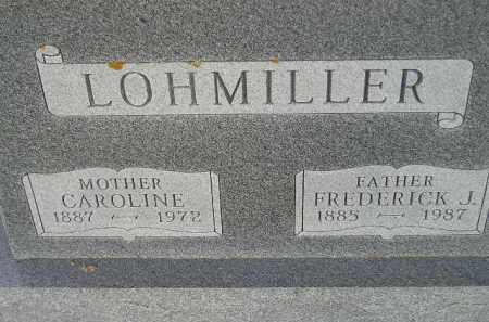 LOHMILLER, FREDERICK JOHN - Codington County, South Dakota | FREDERICK JOHN LOHMILLER - South Dakota Gravestone Photos