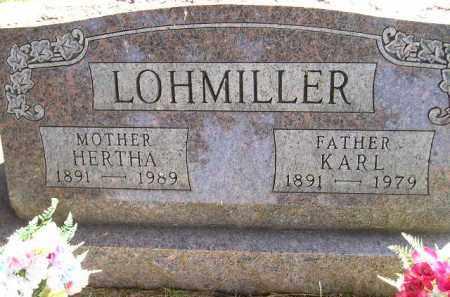LOHMILLER, KARL - Codington County, South Dakota | KARL LOHMILLER - South Dakota Gravestone Photos