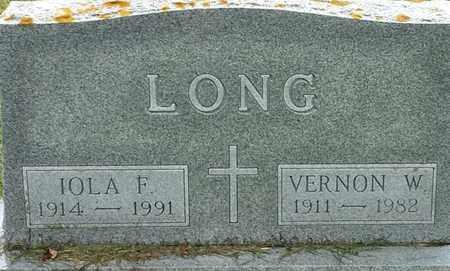 LONG, VERNON W - Codington County, South Dakota | VERNON W LONG - South Dakota Gravestone Photos