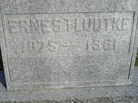 LUDTKE, ERNEST - Codington County, South Dakota | ERNEST LUDTKE - South Dakota Gravestone Photos