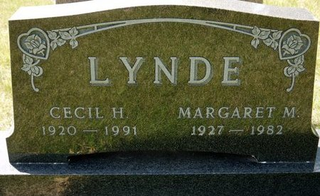 LYNDE, MARGARET M. - Codington County, South Dakota | MARGARET M. LYNDE - South Dakota Gravestone Photos
