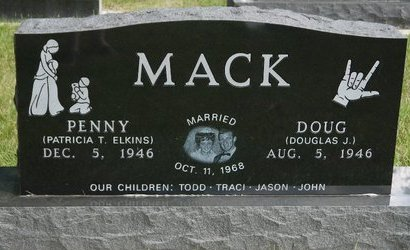 "ELKINS MACK, PATRICIA T. ""PENNY"" - Codington County, South Dakota 