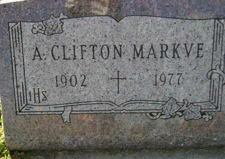 MARKVE, ARCHIE CLIFTON - Codington County, South Dakota | ARCHIE CLIFTON MARKVE - South Dakota Gravestone Photos