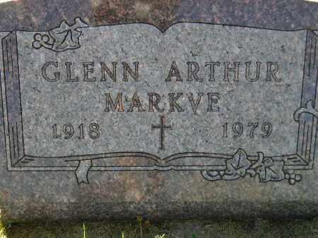 MARKVE, GLENN ARTHUR - Codington County, South Dakota | GLENN ARTHUR MARKVE - South Dakota Gravestone Photos