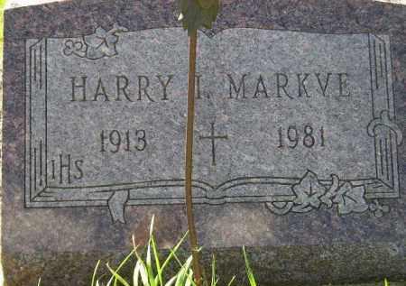 MARKVE, HARRY I. - Codington County, South Dakota | HARRY I. MARKVE - South Dakota Gravestone Photos