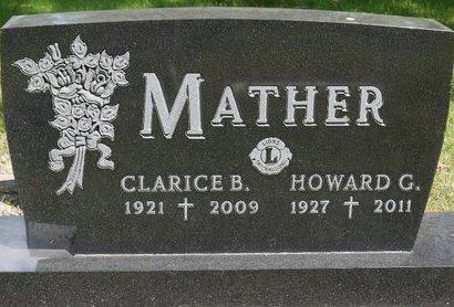 BRULE MATHER, CLARICE B. - Codington County, South Dakota | CLARICE B. BRULE MATHER - South Dakota Gravestone Photos