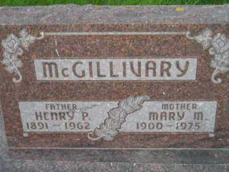 MCGILLIVARY, MARY MINA - Codington County, South Dakota | MARY MINA MCGILLIVARY - South Dakota Gravestone Photos