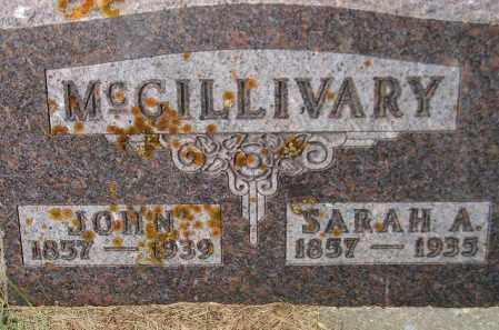 MCGILLIVARY, SARAH ANN - Codington County, South Dakota   SARAH ANN MCGILLIVARY - South Dakota Gravestone Photos
