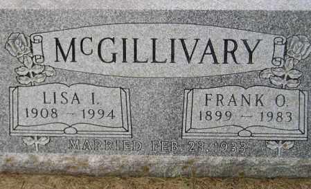 MCGILLIVARY, LISA I. - Codington County, South Dakota | LISA I. MCGILLIVARY - South Dakota Gravestone Photos