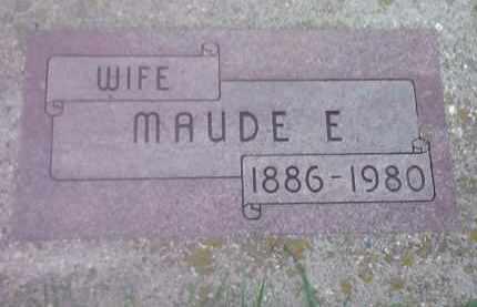 MCGILLIVARY, MAUDE E - Codington County, South Dakota   MAUDE E MCGILLIVARY - South Dakota Gravestone Photos