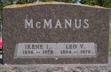 MCMANUS, IRENE I. - Codington County, South Dakota | IRENE I. MCMANUS - South Dakota Gravestone Photos