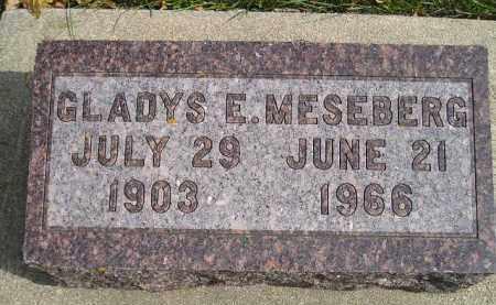 MESEBERG, GLADYS E. - Codington County, South Dakota | GLADYS E. MESEBERG - South Dakota Gravestone Photos