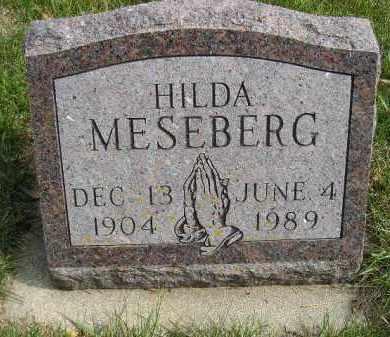 MESEBERG, HILDA - Codington County, South Dakota | HILDA MESEBERG - South Dakota Gravestone Photos