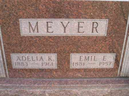 MEYER, EMIL E. - Codington County, South Dakota | EMIL E. MEYER - South Dakota Gravestone Photos