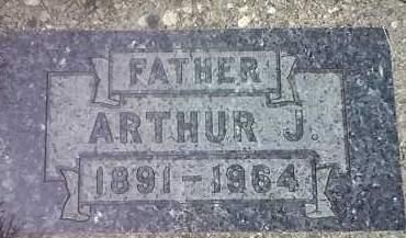 MEYER, ARTHUR J - Codington County, South Dakota | ARTHUR J MEYER - South Dakota Gravestone Photos