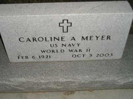 MEYER, CAROLINE A. - Codington County, South Dakota | CAROLINE A. MEYER - South Dakota Gravestone Photos