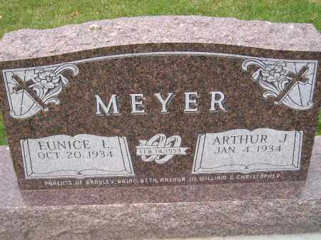 MEYER, ARTHUR J. - Codington County, South Dakota | ARTHUR J. MEYER - South Dakota Gravestone Photos