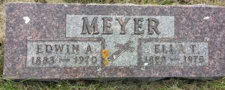 MEYER, EDWIN A - Codington County, South Dakota   EDWIN A MEYER - South Dakota Gravestone Photos