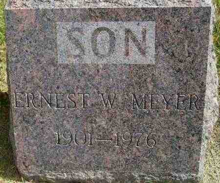 MEYER, ERNEST WILLIAM - Codington County, South Dakota | ERNEST WILLIAM MEYER - South Dakota Gravestone Photos