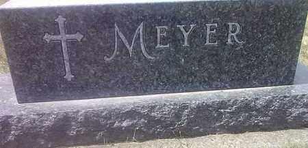 MEYER, FAMILY STONE - Codington County, South Dakota | FAMILY STONE MEYER - South Dakota Gravestone Photos
