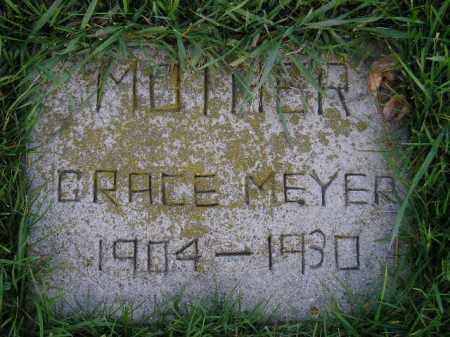 MEYER, GRACE - Codington County, South Dakota | GRACE MEYER - South Dakota Gravestone Photos