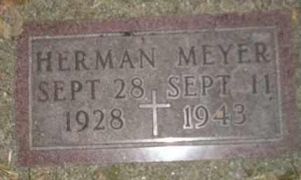 MEYER, HERMAN - Codington County, South Dakota | HERMAN MEYER - South Dakota Gravestone Photos