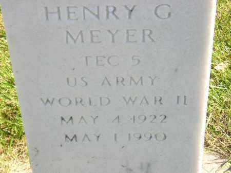 MEYER, HENRY G. - Codington County, South Dakota | HENRY G. MEYER - South Dakota Gravestone Photos