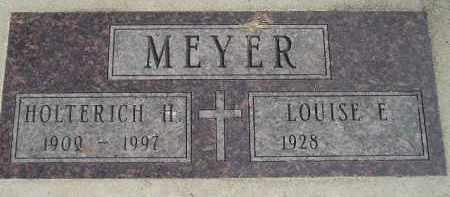 MEYER, HOLTERICH HUGO HERMAN - Codington County, South Dakota | HOLTERICH HUGO HERMAN MEYER - South Dakota Gravestone Photos