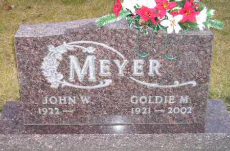 MEYER, JOHN W. - Codington County, South Dakota | JOHN W. MEYER - South Dakota Gravestone Photos