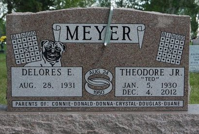 MEYER, DELORES E. - Codington County, South Dakota   DELORES E. MEYER - South Dakota Gravestone Photos
