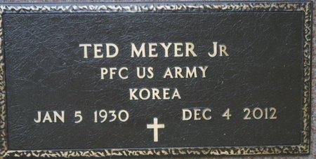 "MEYER JR.(MILITARY), THEODORE ""TED"" - Codington County, South Dakota | THEODORE ""TED"" MEYER JR.(MILITARY) - South Dakota Gravestone Photos"