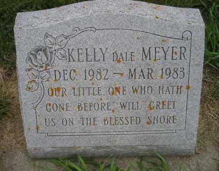 MEYER, KELLY DALE - Codington County, South Dakota | KELLY DALE MEYER - South Dakota Gravestone Photos