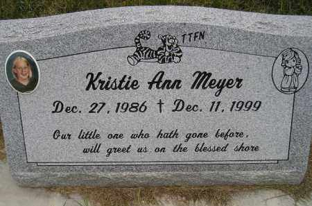 MEYER, KRISTIE ANN - Codington County, South Dakota | KRISTIE ANN MEYER - South Dakota Gravestone Photos