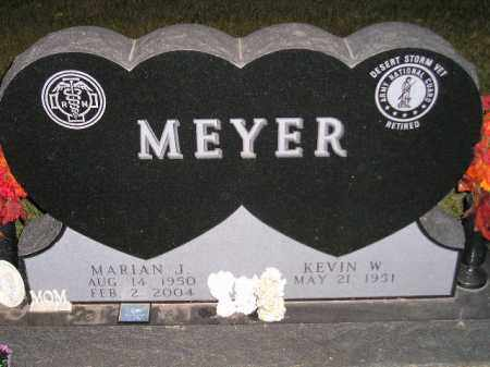 MEYER, MARIAN J. - Codington County, South Dakota | MARIAN J. MEYER - South Dakota Gravestone Photos