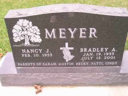 MEYER, BRADLEY A. - Codington County, South Dakota | BRADLEY A. MEYER - South Dakota Gravestone Photos