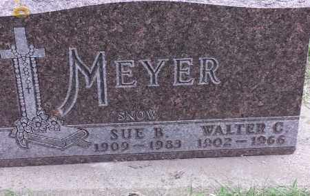 MEYER, SUE B - Codington County, South Dakota   SUE B MEYER - South Dakota Gravestone Photos