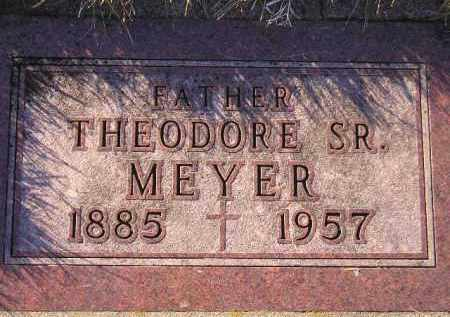 MEYER, THEODORE SR. - Codington County, South Dakota | THEODORE SR. MEYER - South Dakota Gravestone Photos