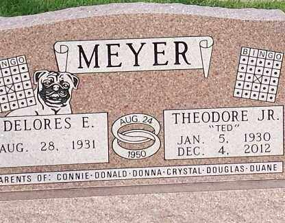 "MEYER, THEODORE JR ""TED"" - Codington County, South Dakota 