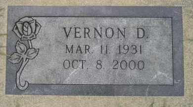 MEYER, VERNON D. - Codington County, South Dakota | VERNON D. MEYER - South Dakota Gravestone Photos