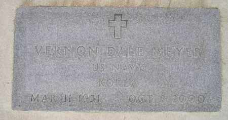 MEYER, VERNON DALE - Codington County, South Dakota | VERNON DALE MEYER - South Dakota Gravestone Photos