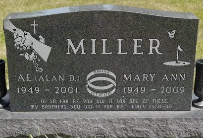 MILLER, MARY ANN - Codington County, South Dakota | MARY ANN MILLER - South Dakota Gravestone Photos
