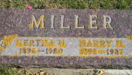 MILLER, BERTHA H. - Codington County, South Dakota | BERTHA H. MILLER - South Dakota Gravestone Photos