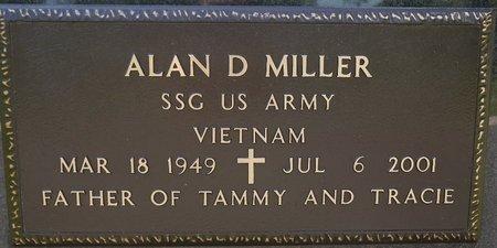 MILLER, ALAN D. (MILITARY) - Codington County, South Dakota | ALAN D. (MILITARY) MILLER - South Dakota Gravestone Photos