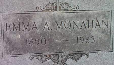 MONAHAN, EMMA A. - Codington County, South Dakota   EMMA A. MONAHAN - South Dakota Gravestone Photos