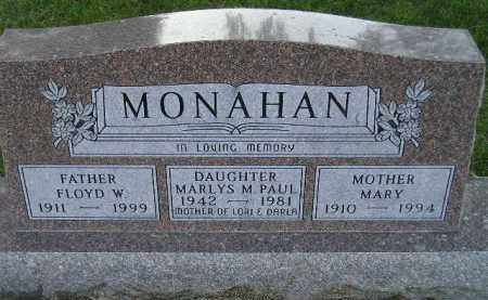 MONAHAN, MARLYS M. - Codington County, South Dakota | MARLYS M. MONAHAN - South Dakota Gravestone Photos
